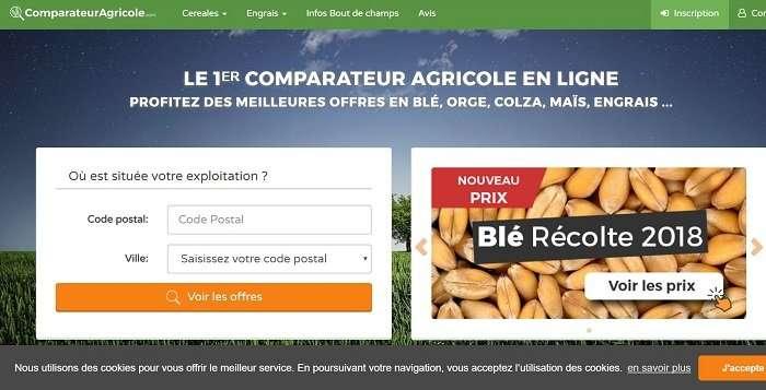 compareteur agricole schermata sito