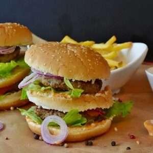 burger e junk food