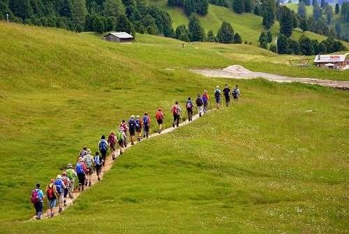 camminata montagna