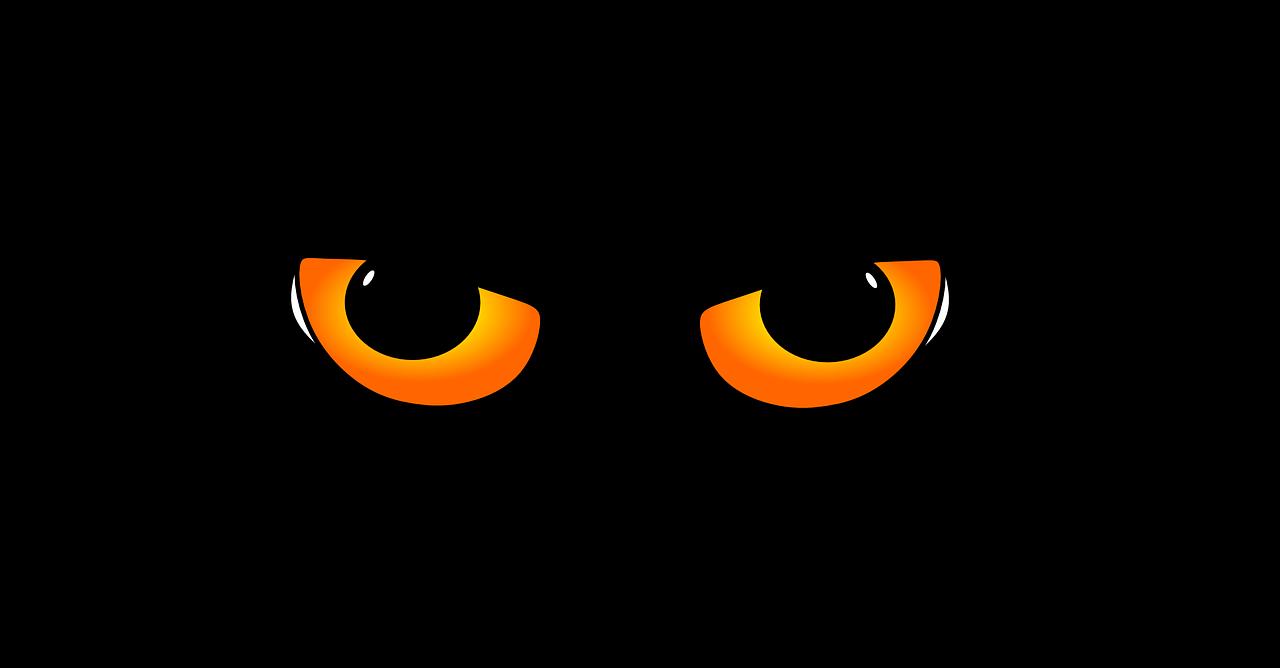 occhi di gatto sani con spinaci