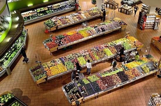 supermercato biologico francese